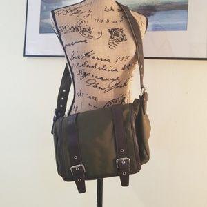 Not for sale##SOLD#####Talbots Olive Messanger Bag
